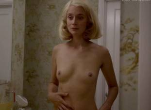 caitlin fitzgerald nude disrobing on masters of sex 7189 10