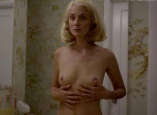caitlin fitzgerald nude disrobing on masters of sex 7189 14