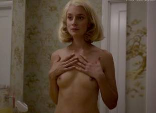 caitlin fitzgerald nude disrobing on masters of sex 7189 15