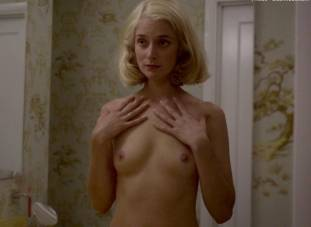caitlin fitzgerald nude disrobing on masters of sex 7189 16