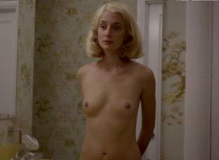 caitlin fitzgerald nude disrobing on masters of sex 7189 5