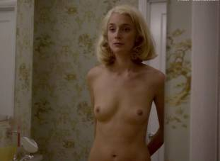 caitlin fitzgerald nude disrobing on masters of sex 7189 7