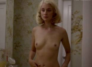 caitlin fitzgerald nude disrobing on masters of sex 7189 9