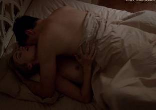caitlin fitzgerald topless sex scene in masters of sex 2001 3