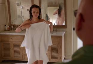 camilla luddington nude for a swim on californication 4270 20