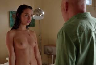 camilla luddington nude for a swim on californication 4270 23