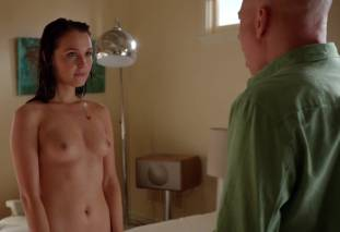 camilla luddington nude for a swim on californication 4270 25
