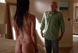 camilla luddington nude for a swim on californication 4270 26