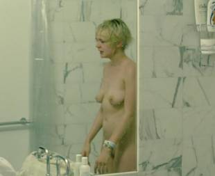 carey mulligan nude in bathroom scene from shame 2487 15
