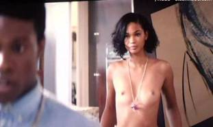 chanel iman topless debut in dope 8017 10