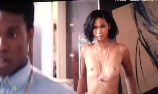 chanel iman topless debut in dope 8017 11