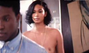 chanel iman topless debut in dope 8017 12