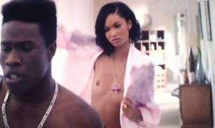 chanel iman topless debut in dope 8017 28