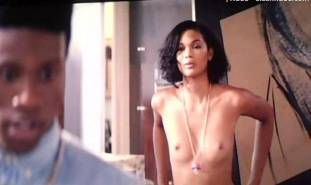 chanel iman topless debut in dope 8017 9