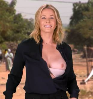 chelsea handler flashes breast in spoof political ad 6676 11