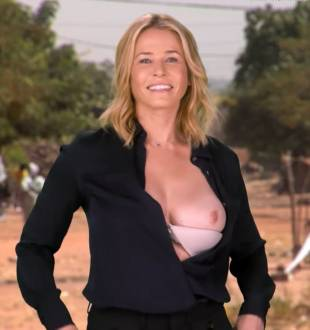 chelsea handler flashes breast in spoof political ad 6676 12