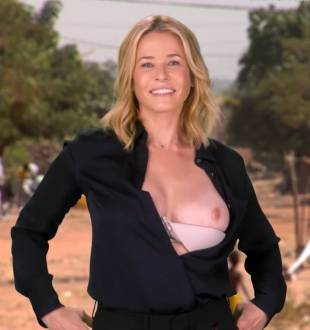 chelsea handler flashes breast in spoof political ad 6676 13