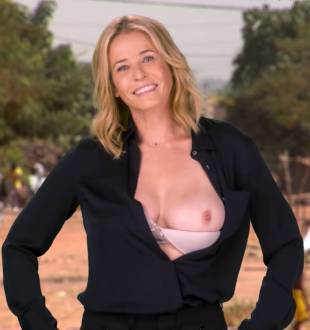 chelsea handler flashes breast in spoof political ad 6676 17