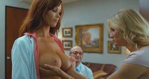 christine smith topless breasts squeezed by cameron diaz 6187 15