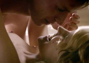 clemence poesy topless in bed from birdsong   2179 1