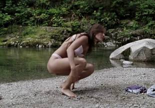 crystal lowe topless for swim in wrong turn 2 dead end 7225 22