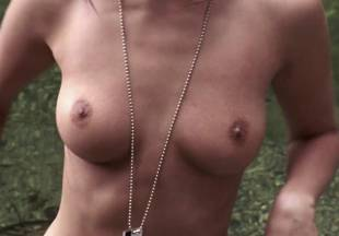 crystal lowe topless for swim in wrong turn 2 dead end 7225 9