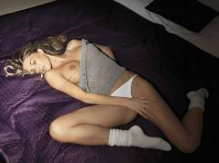 danica thrall topless to invite us into her bedroom 4015 9