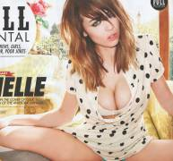 danielle sharp topless with her hands up in front 9937 1