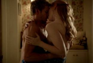deborah ann woll topless on true blood 9685 4