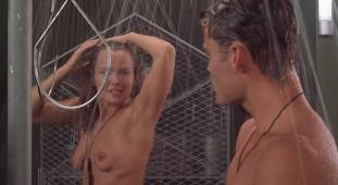 dina meyer topless starship troopers shower 9491 15