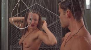 dina meyer topless starship troopers shower 9491 16