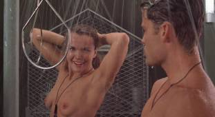 dina meyer topless starship troopers shower 9491 18