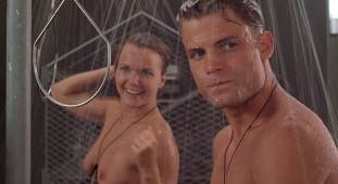 dina meyer topless starship troopers shower 9491 19