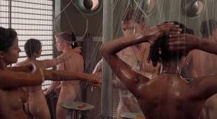 dina meyer topless starship troopers shower 9491 2