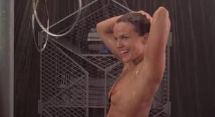 dina meyer topless starship troopers shower 9491 21