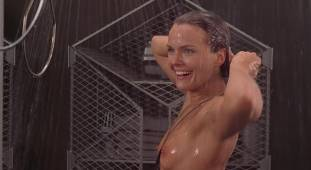 dina meyer topless starship troopers shower 9491 22