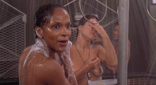 dina meyer topless starship troopers shower 9491 4