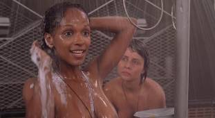 dina meyer topless starship troopers shower 9491 6