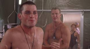 dina meyer topless starship troopers shower 9491 8