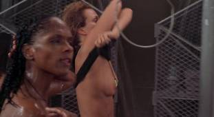 dina meyer topless starship troopers shower 9491 9