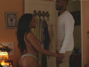 dominique perry nude in insecure sex scene 8994 34