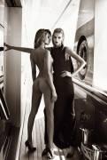 edita vilkeviciute nude with naked anja rubik for vogue paris 9660 8