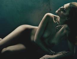 elena melnik nude wearing only jewelry in numero 4760 7