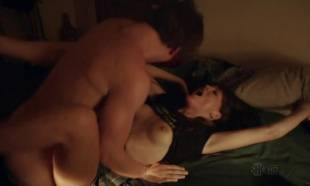 emma greenwell topless to break down walls on shameless 5558 11