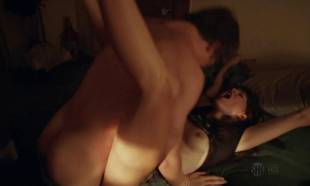 emma greenwell topless to break down walls on shameless 5558 8