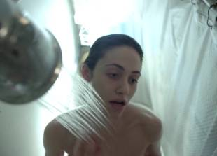 emmy rossum naked out of the shower on shameless 2873 1