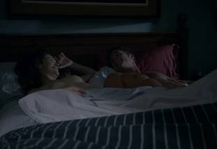 emmy rossum topless after sex in bed on shameless 8119 15