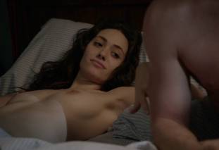 emmy rossum topless after sex in bed on shameless 8119 22