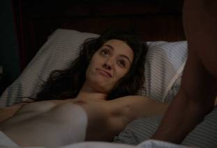 emmy rossum topless after sex in bed on shameless 8119 23