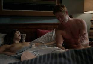 emmy rossum topless after sex in bed on shameless 8119 24